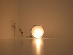 局部照明 は吉岡徳仁デザインのティアドロップにしました