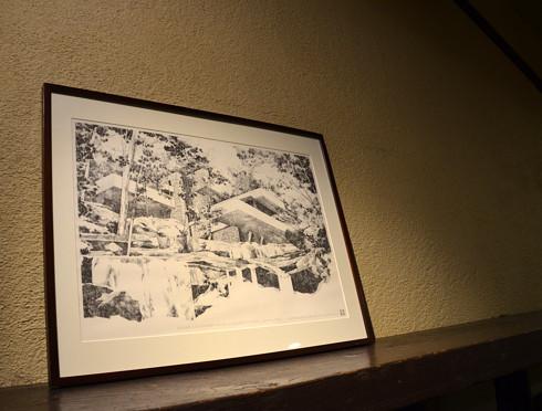 落水荘の絵画