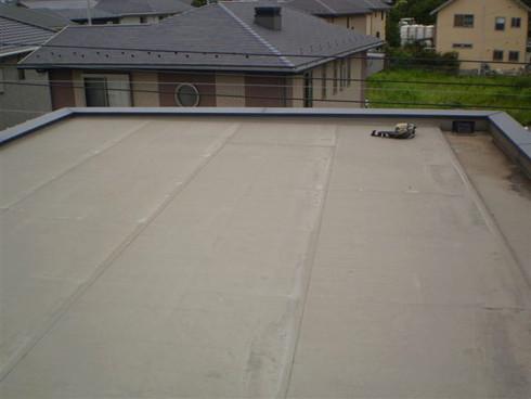 陸屋根メンテナンス状況