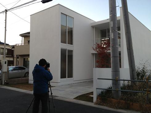 竣工写真 をいつもの写真家さんにお願いしました | 川口の白い家