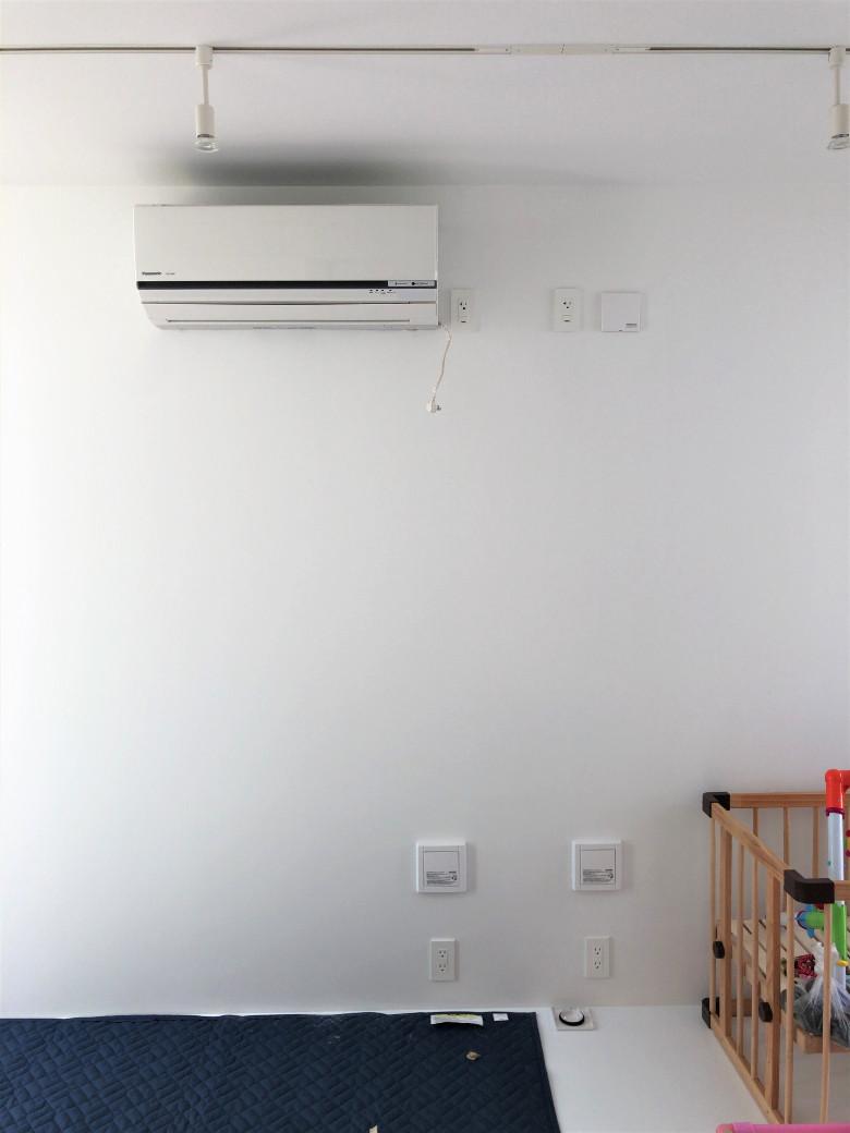 子供部屋のエアコン設置完了