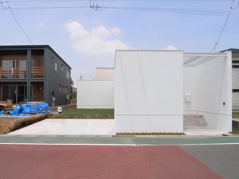 ゆめみ野の家の外構工事完成