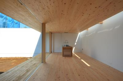 house in yumemino-daytime-interior-living dining kitchen