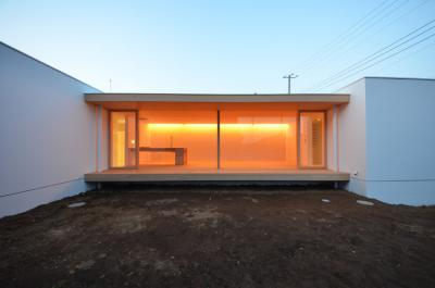 house in yumemino-night-elevation-s